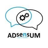 Logo firmy Adsensum - tłumaczenia techniczne z j. włoskiego i francuskiego