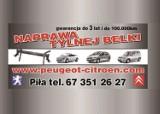 Logo firmy REGENERACJA TYLNEJ BELKI PEUGEOT CITROEN
