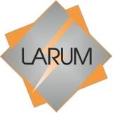 Logo firmy LARUM Instalacje elektryczne i systemy alarmowe