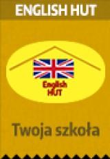 """Logo firmy """"English Hut"""" Kursy Językowe Agnieszka Zdeb"""
