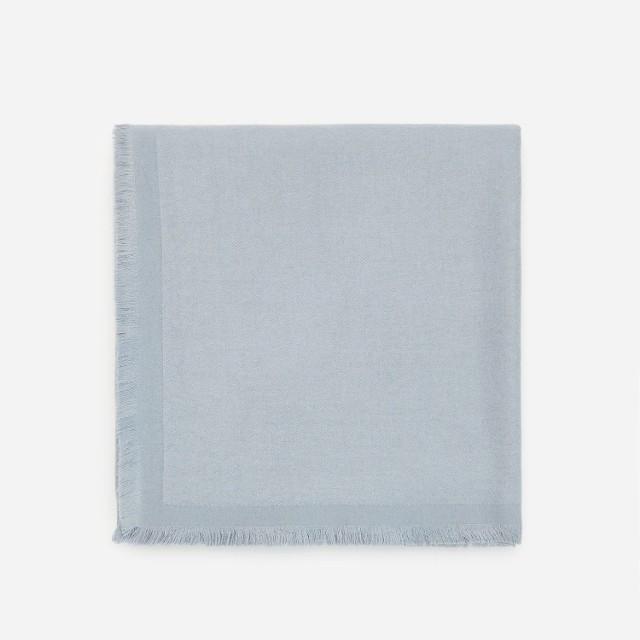 Reserved - Szalik z recyklingowanym poliestrem - Niebieski