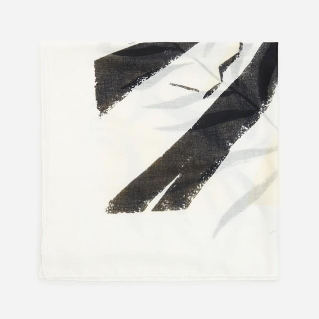 Reserved - Wzorzysty szalik - Beżowy