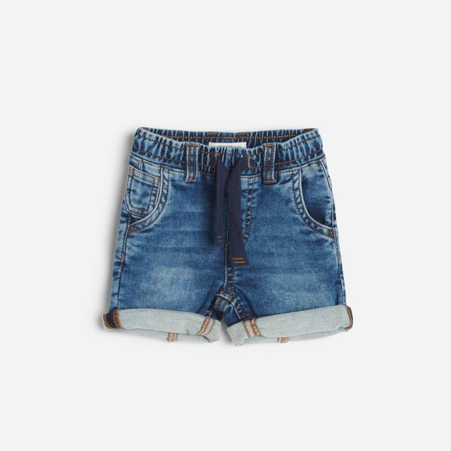 Reserved - Jeansowe szorty - Niebieski