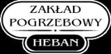 Logo firmy Zakład Pogrzebowy HEBAN