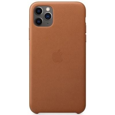 Etui APPLE Leather Case do iPhone 11 Pro Max Brązowy