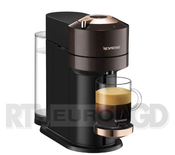 DeLonghi Nespresso Vertuo Next ENV120.BW Premium (brązowy)