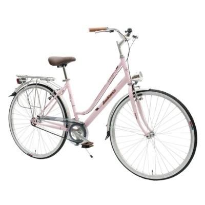 Rower miejski INDIANA Village 1B 28 cali damski Różowy