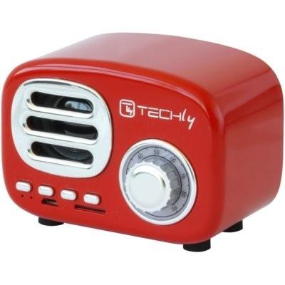 Głośnik mobilny TECHLY 105490 Czerwony