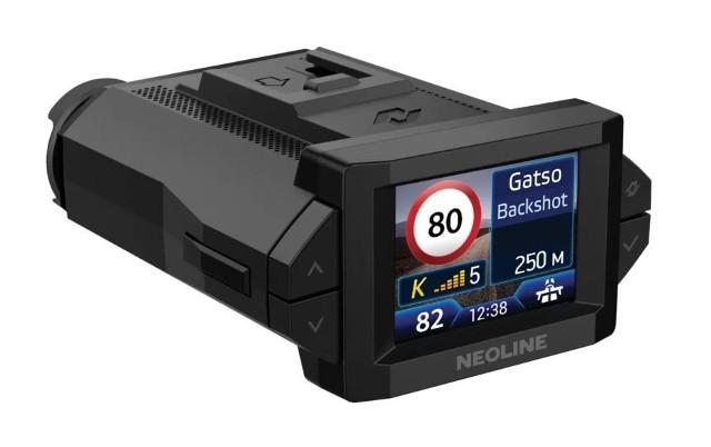 Wideorejestrator Neoline X-COP 9300S wykrywacz radarów - GPS