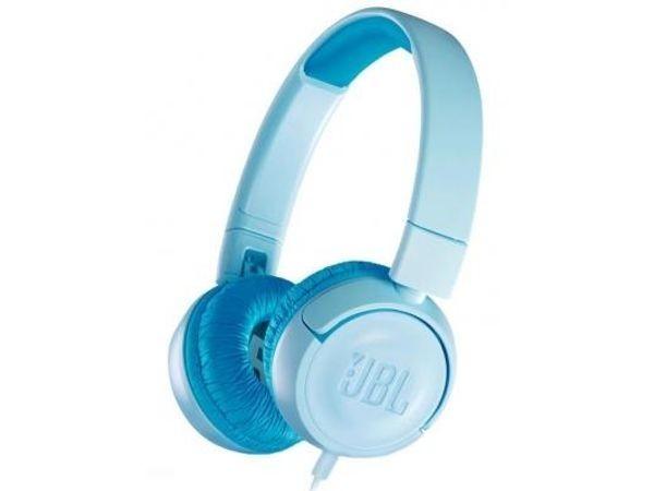 JBL Słuchawki Nauszne JR300 Niebieskie