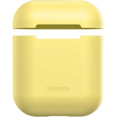 Etui BASEUS Apple AirPods Żółty