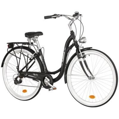 Rower miejski INDIANA Moena A7ZP 28 cali damski Czarny