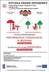 Logo firmy Wyższa Szkoła Finansów i Informatyki im. prof. Janusza Chechlińskiego