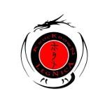 "Logo firmy LEGNICKI KLUB KARATE SHINKYOKUSHIN ""KNOCKDOWN"""