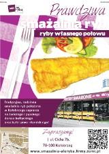 Logo firmy Ale Ryba Smażalnia Ryb Grzegorz Bojanowski