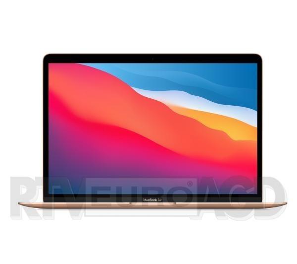 """Apple Macbook Air M1 13,3"""" Apple M1 - 8GB RAM - 512GB Dysk - macOS (złoty)"""