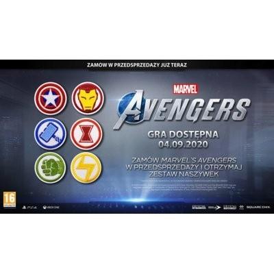 Naszywka CENEGA Marvel Avengers