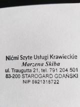 Logo firmy nićmiszyte usługi krawieckie Marzena Skiba