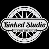 Logo firmy Kinked Studio. Usuwanie wgnieceń bez lakierowania