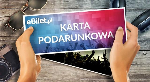 Karta podarunkowa eBilet.pl - Nominał 100 PLN