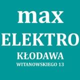 Logo firmy MAX ELEKTRO Kłodawa
