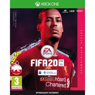 FIFA 20 - Edycja Mistrzowska Gra XBOX ONE (Kompatybilna z Xbox Series X)