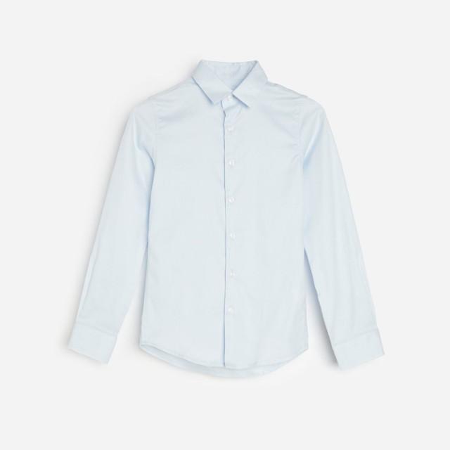 Reserved - Bawełniana koszula slim fit - Niebieski