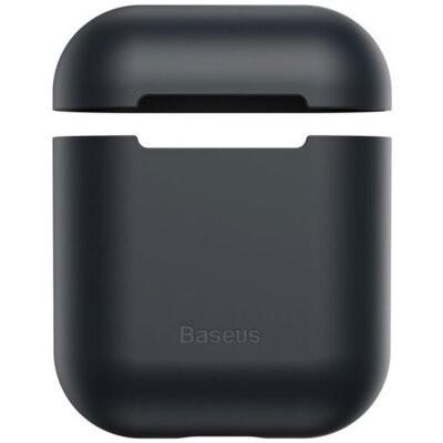 Etui na słuchawki BASEUS AirPods Apple Czarny