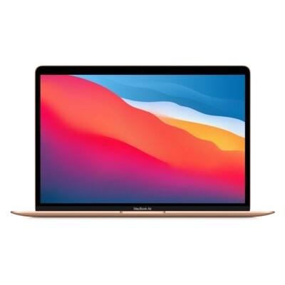 Laptop APPLE MacBook Air 13 M1/8GB/256GB SSD/INT/macOS Złoty MGND3ZE/A