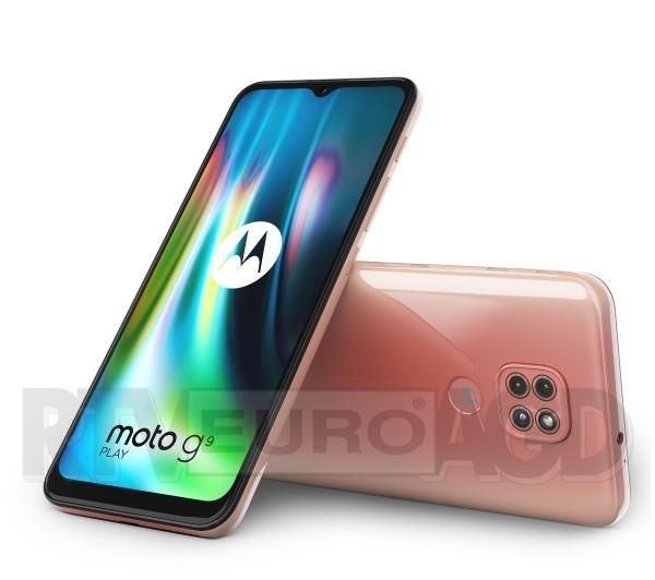 Motorola Moto g9 play 4/64GB (różowy)