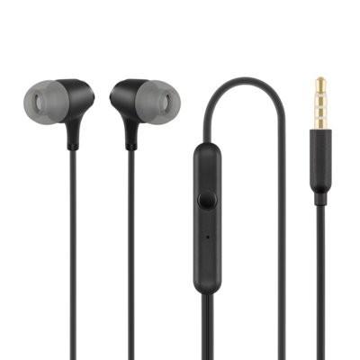 ACME Europe Słuchawki z mikrofonem HE22 douszne czarne