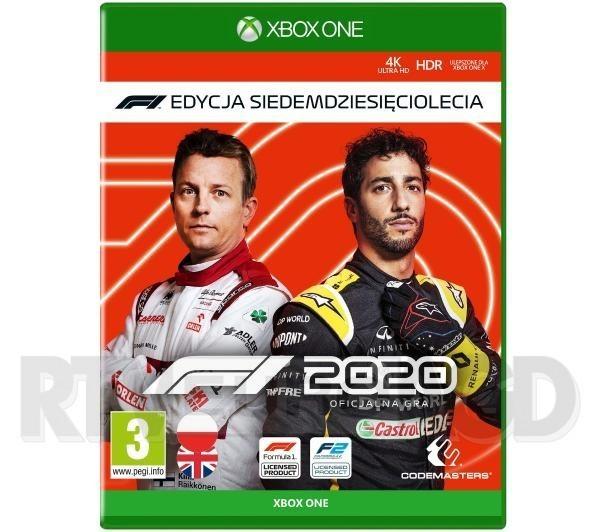 F1 2020 - Edycja Siedemdziesięciolecia Xbox One / Xbox Series X