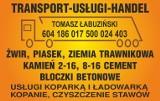 Logo firmy Transport - Usługi - Handel Tomasz Łabuziński