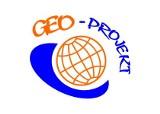 """Logo firmy """"GEO - PROJEKT"""" Pracownia Geodezyjna Marcin Kałuziak"""