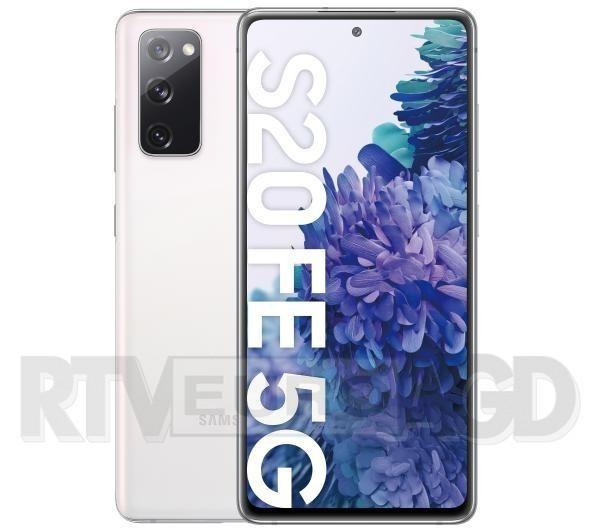 Samsung Galaxy S20 FE 5G (biały)