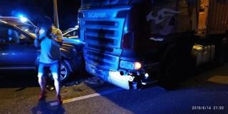 Tragiczny wypadek na DK1 z winy kierowcy TIRa
