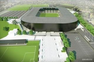 Wszystko o budowie stadionu miejskiejgo w Szczecinie