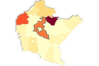 Liczba zakażeń koronawirusem na Podkarpaciu