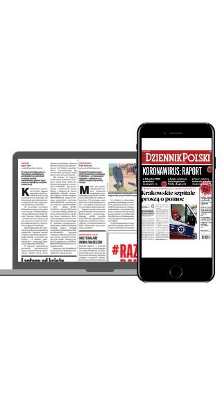 """Czytaj """"Dziennik Polski"""" w formie gazety online"""
