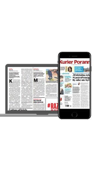 """""""Kurier Poranny"""" w formie gazety online"""