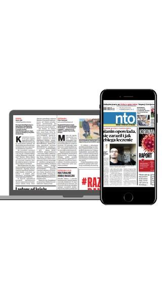 """Czytaj """"NTO"""" w formie gazety online"""