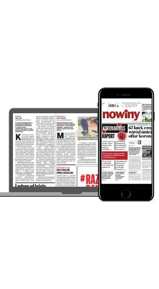 """Czytaj """"Nowiny"""" w formie gazety online"""