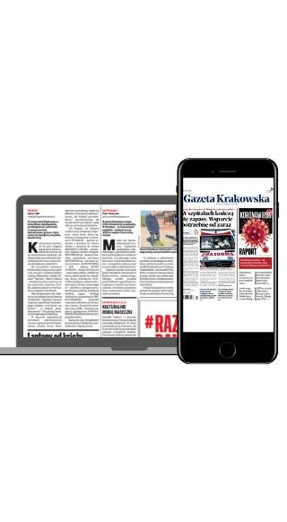 """Czytaj """"Gazetę Krakowską"""" w formie gazety online"""