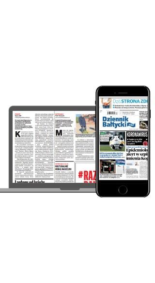 """Czytaj """"Dziennik Bałtycki"""" w formie gazety online"""