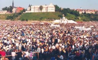 Jan Paweł II w Sandomierzu. Pielgrzymka 12 czerwca 1999