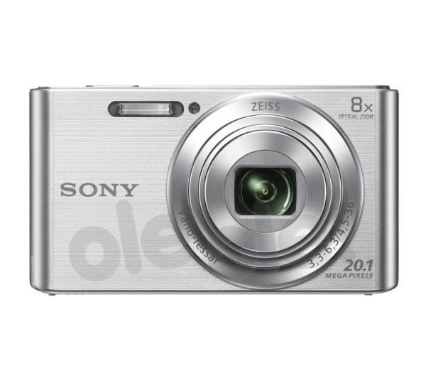 Sony Cyber-shot DSC-W830 (srebrny)