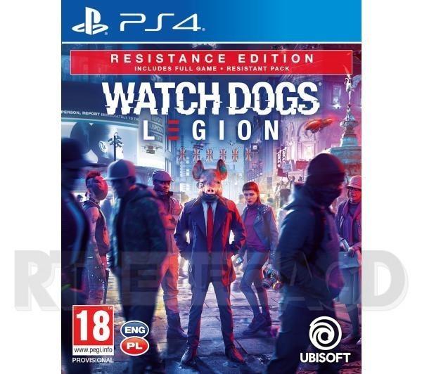 Watch Dogs Legion - Edycja Resistance PS4