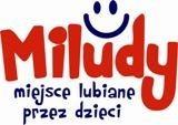 Logo firmy Miludy miejsce lubiane przez dzieci