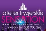 Logo firmy Atelier Fryzjerskie SENSATION