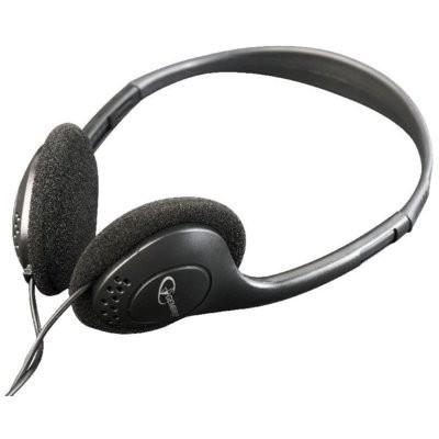 Słuchawki nauszne GEMBIRD MHP-123 Czarny